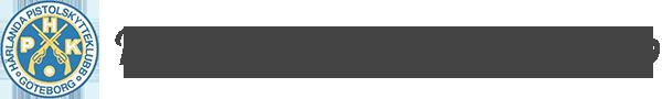 Härlanda Pistolskytteklubb Logo